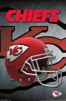 "Trends International NFL Kansas City Chiefs - Helmet, 14.725"" x 22.375"", Premium Unframed"