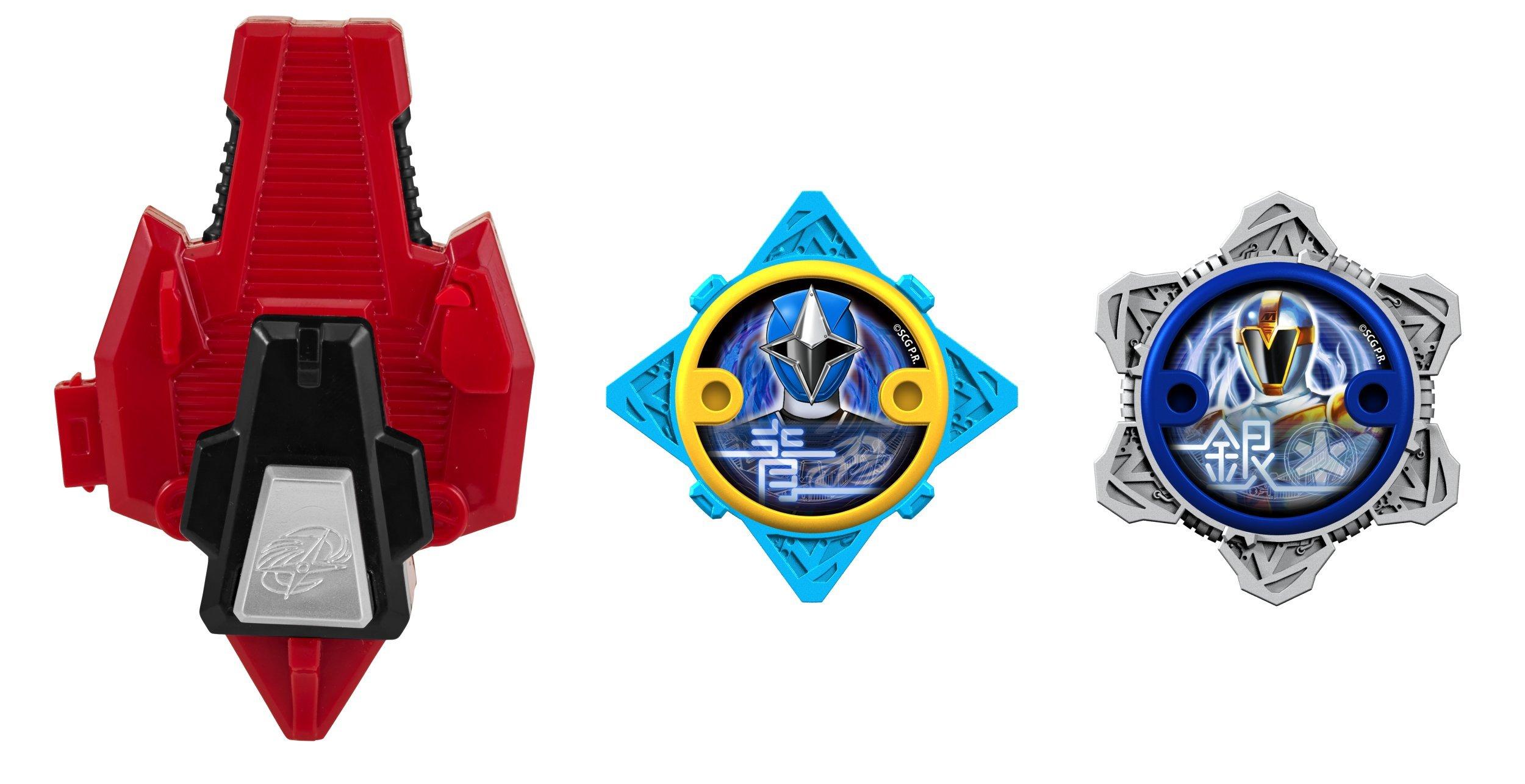 Power Rangers Super Steel Ninja Power Star Pack, Dragon Zord