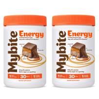 Mybite Energy Chocolate Vitamin, 60 Bites (30 Count, Pack of 2), Vitamin B6, B12, Caffeine, Energy Supplement