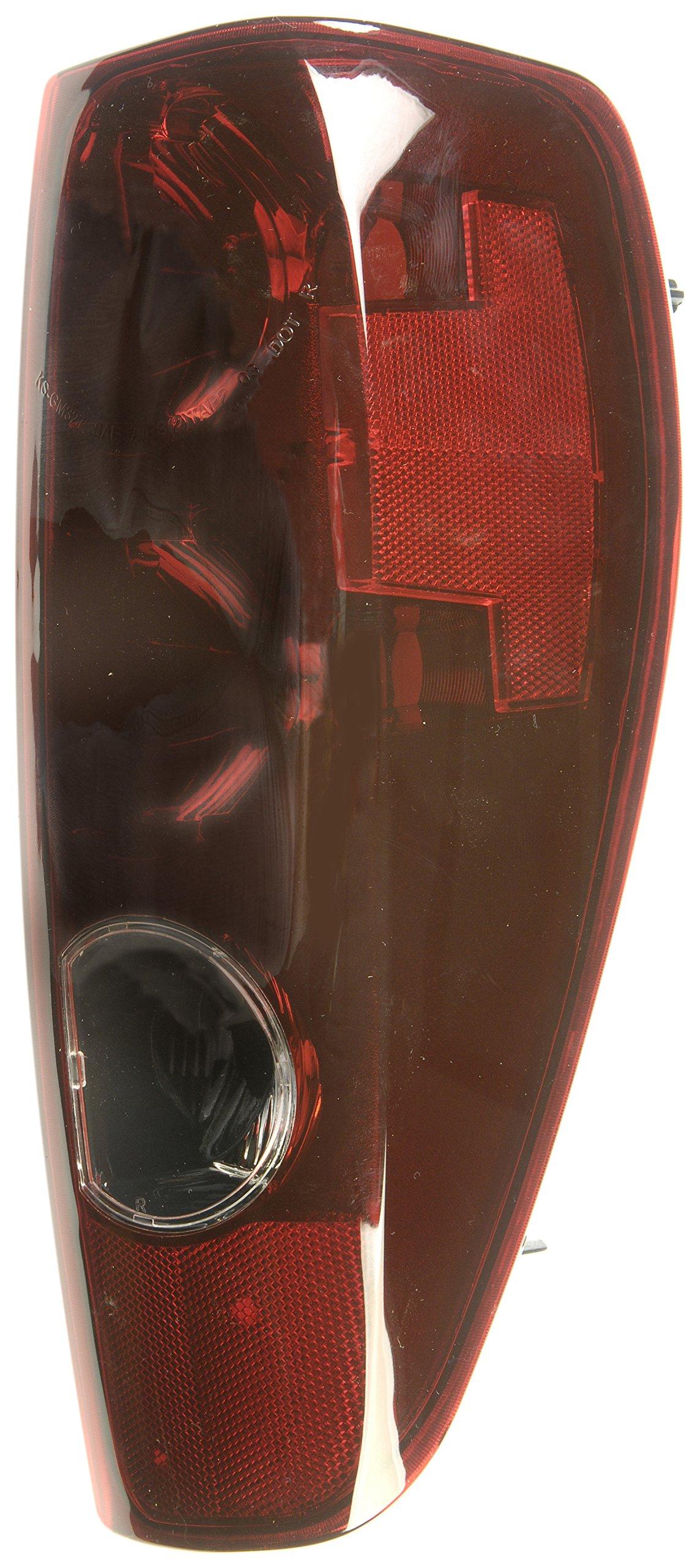 Dorman 1611134 Passenger Side Tail Light Assembly for Select Chevrolet / GMC Models