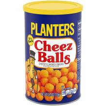 Planters Cheez Balls, (6 Count of 2.75 oz Canisters) 16.5 oz
