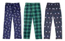 Sleep On It 3-Pack Boys Pajama Pants | Soft Kids Pajama Pants – (3 Pack)