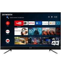 "Skyworth U5A Series 43"" Inch 4K UHD LED HDR A53 Quad-Core Android TV Smart 43U5A"