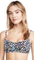Peixoto Women's JoJo Smocked Bikini Top