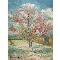 Jigsaw Puzzle 1500 Pieces for Adults Souvenir De Mauve by Vincent Van Gogh Puzzles Peach Blossom 34.25 X 22.5 Inches