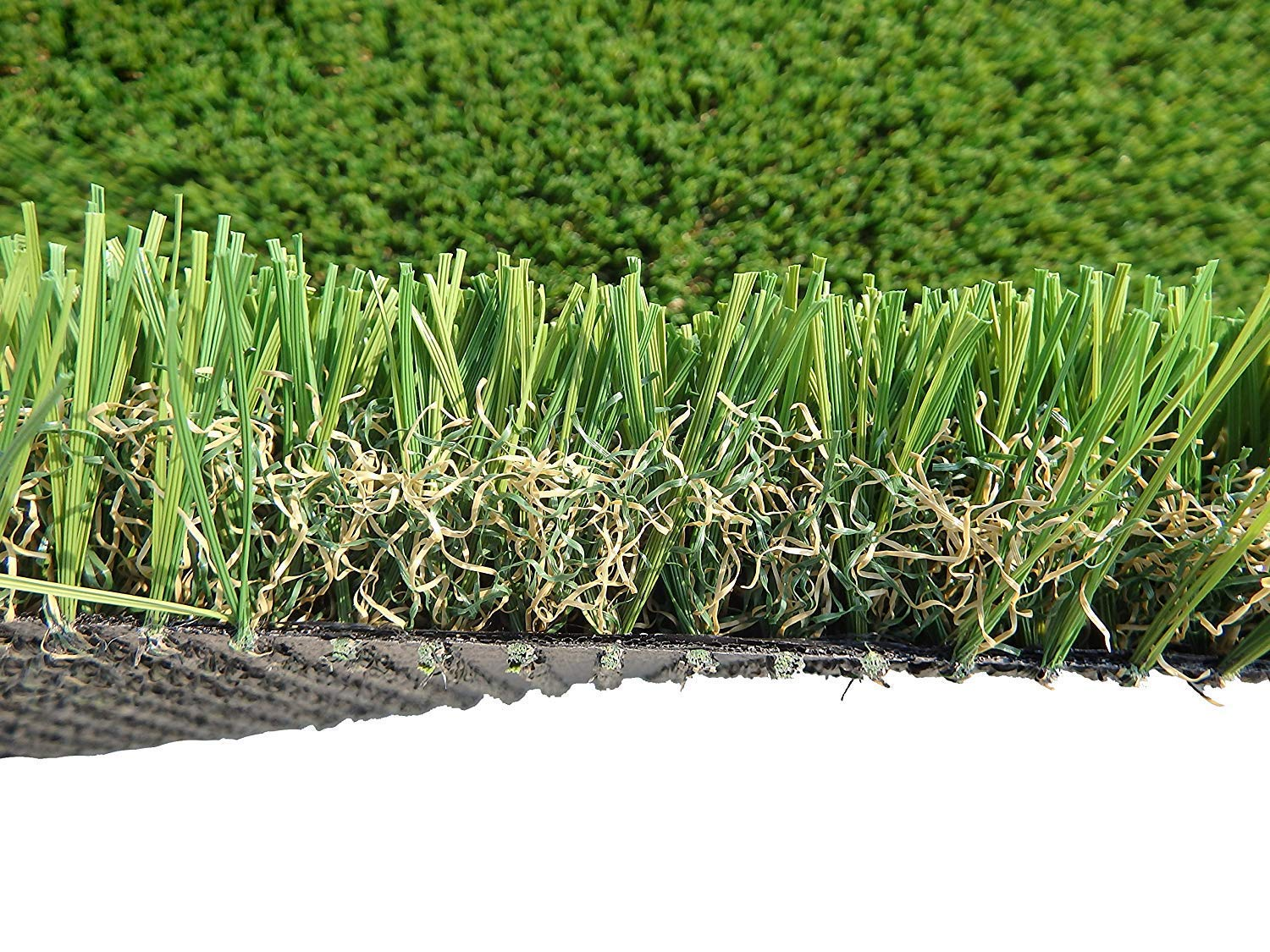 PZG Commerical Artificial Grass Patch w/ Drainage Holes & Rubber Backing   Extra-Heavy & Durable Turf   Lead-Free Fake Grass for Dogs or Outdoor Decor   Total Wt. - 103 oz & Face Wt. 75 oz   12' x 6'