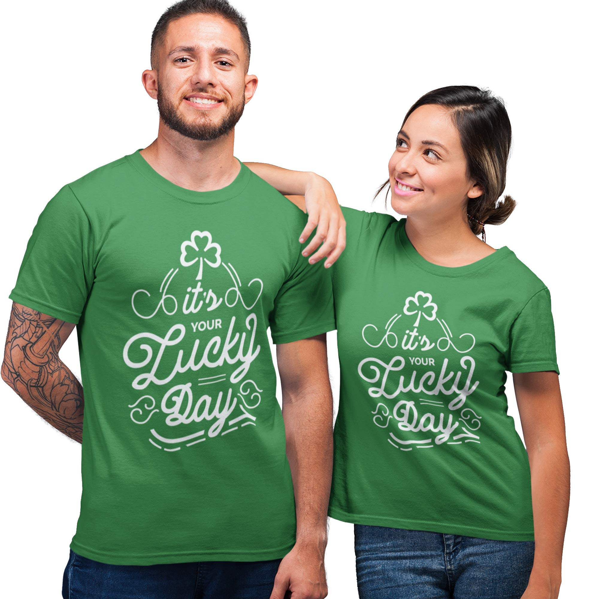 Purple Print House Irish T Shirt St Patricks Day Decorations Ireland Gifts Leprechaun Costume Funny T Shirts
