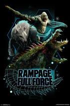 "Trends International Rampage - Full Force, 22.375"" x 34"", Unframed Version"