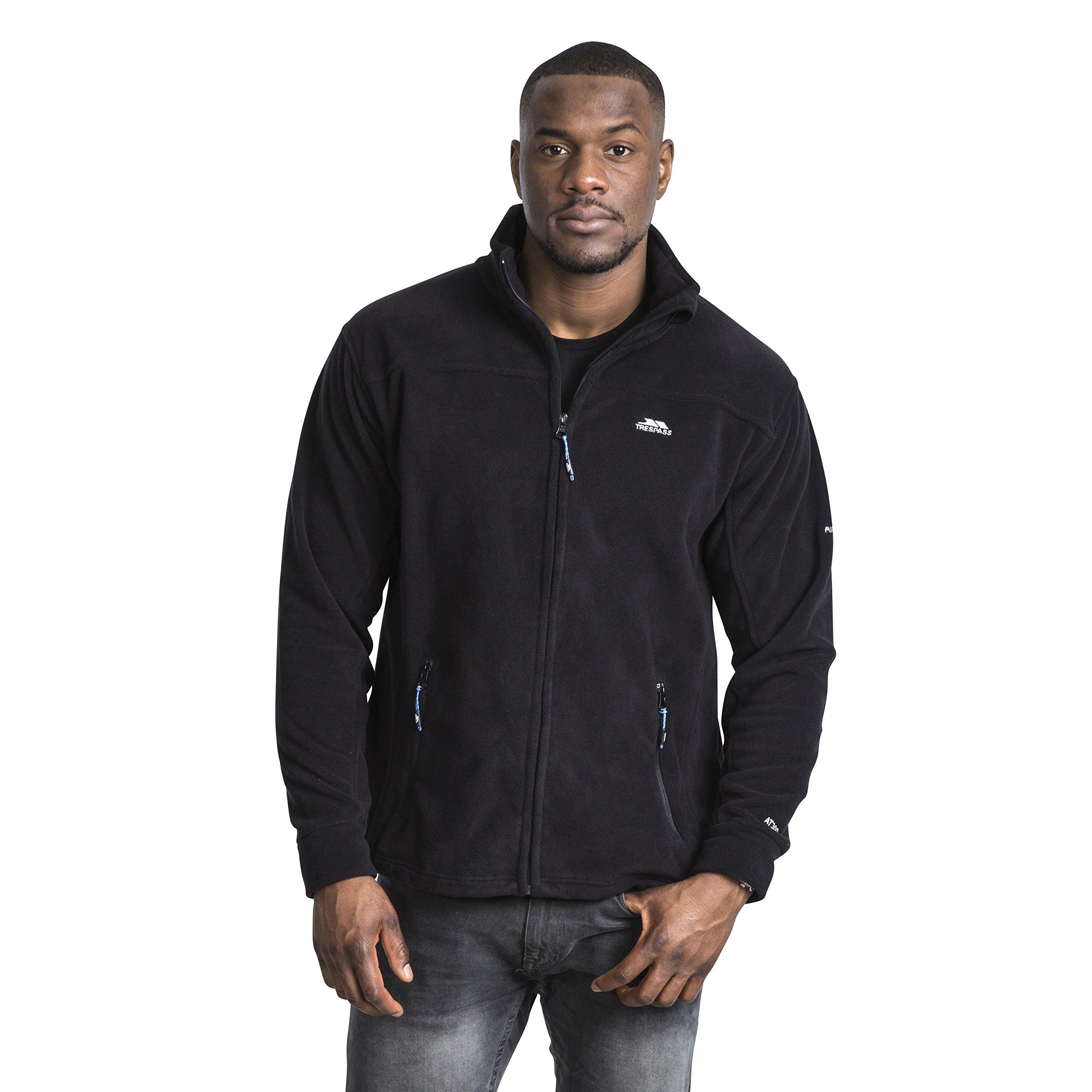 Trespass Bernal Lightweight Full Zip Mens Jacket Warm Casual Fleece Jumper
