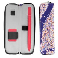 """MoKo Holder Case for i-Pencil (1st & 2nd Gen), Carrying Bag Sleeve Cover for iPad Pro 11 & 12.9 2020/iPad 10.2/iPad Air(3rd Gen) 10.5""""/iPad Mini(5th Gen) 7.9"""" 2019, Built-in Pocket - New York City"""