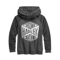 Harley-Davidson Women's Since 1903 Pullover Hoodie (Grey)