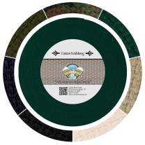 Country Brook Design - Green Heavy Cotton Webbing with 17 Vibrant Color Options (1 Inch, 50 Yards)