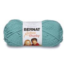 Bernat Softee Chunky Yarn, Seagreen, Single Ball (60373)