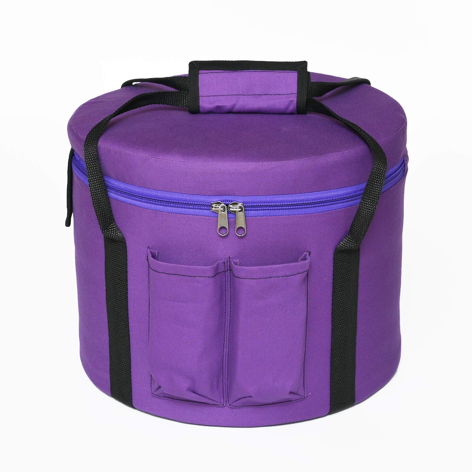 CVNC 14 Inch Purple Color Padded Carrying Case Bag For Crystal Singing Bowl Putting 14 Inch crystal singing bowl