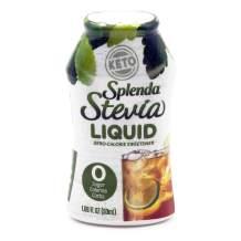 SPLENDA STEVIA LIQUID, Zero Calorie Sweetener Drops, 1.68 Ounce Bottle (Pack of 1)