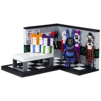 McFarlane Toys Five Nights at Freddy's Paper Pals Party Small Construction Set