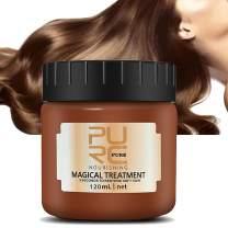 PURC Magical Treatment 120ML, Firstfly Advanced Molecular Hair Roots Treatment 5 Seconds Repairs Damage Hair Root Hair Tonic Keratin Hair & Scalp Treatment