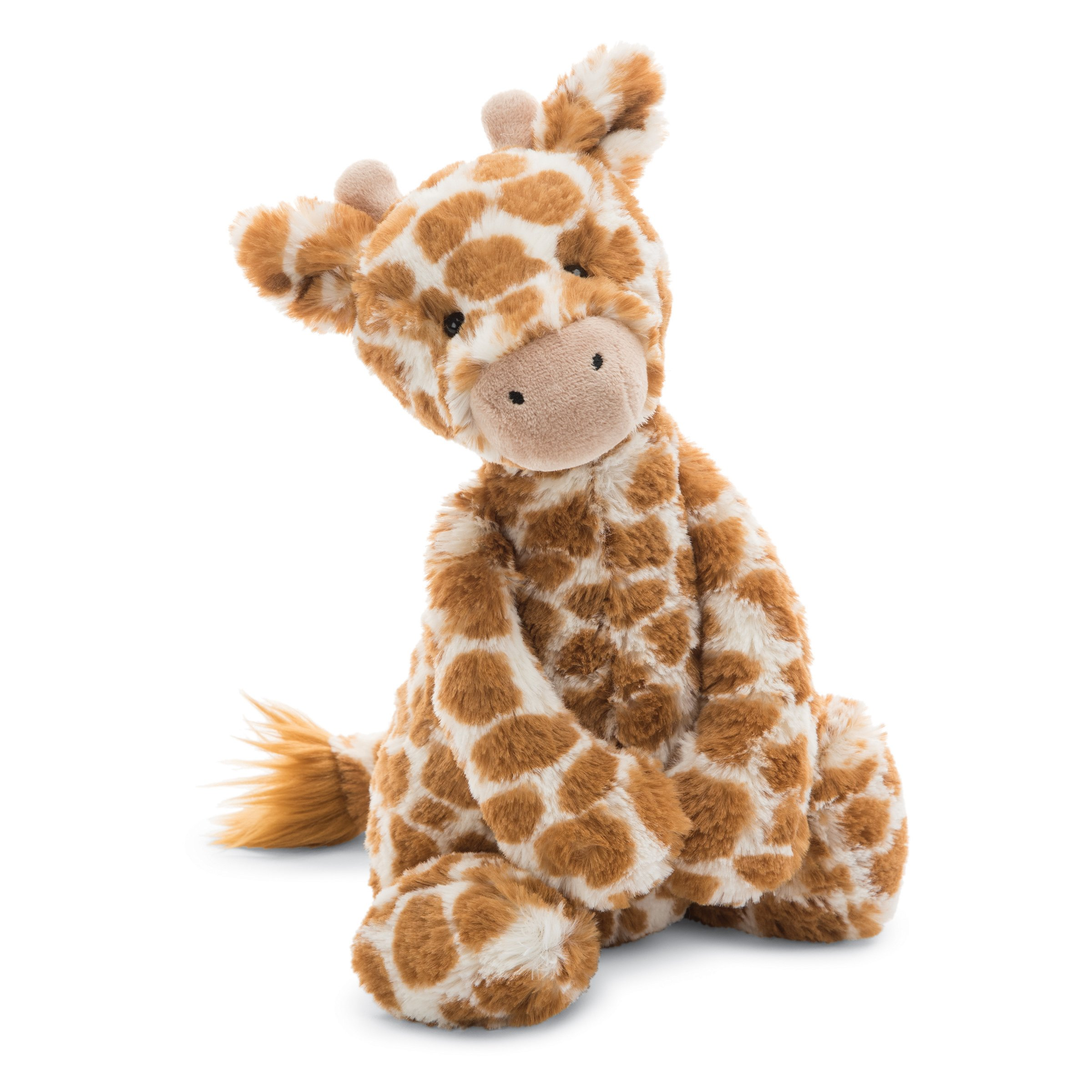 Jellycat Bashful Giraffe Stuffed Animal, Medium, 12 inches