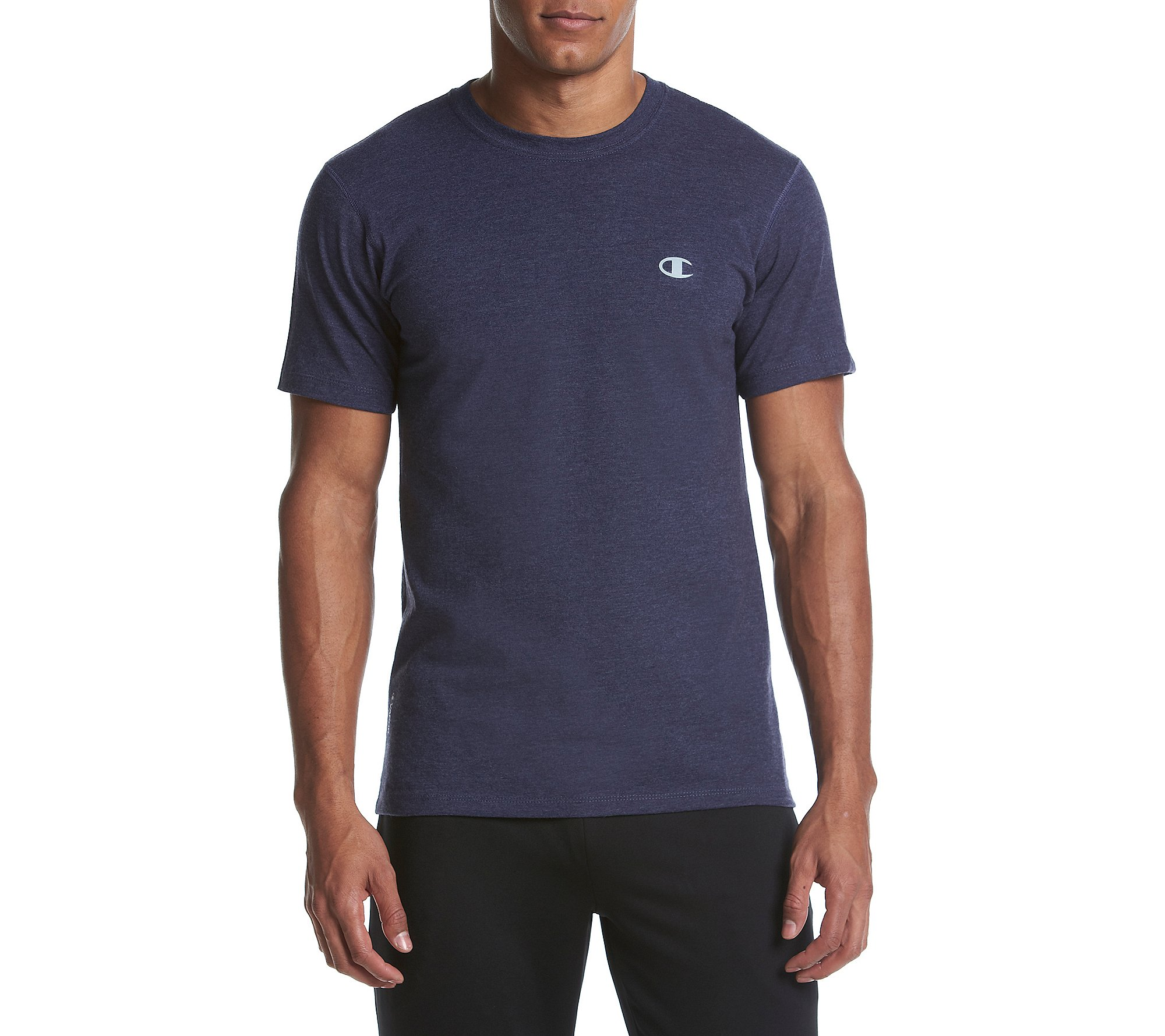 Champion Men's Double Dry Cotton Crew-Neck Shirt