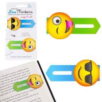 Line Markers Novelty Fun Magnetic Bookmark Page Holder Book Lover Reading Gift – Crazy and Cool