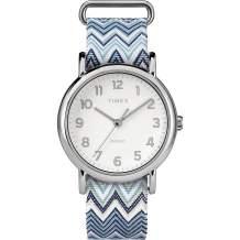 Timex Women's Weekender Slip-Thru Strap Nylon Watch