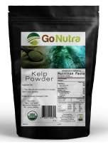 8 oz. Organic KELP Powder Pure ~ N. America SOURCED - SUPERFOOD