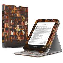 TiMOVO Case Compatible for Kindle Paperwhite E-Reader (10th Generation, 2018 Release) - Vertical Multi-Viewing Flip Stand Cover with Auto Sleep/Wake Fit Amazon Kindle Paperwhite, Bookshelf