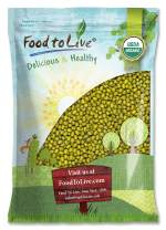 Certified Organic Mung Beans by Food to Live (Sprouting, Non-GMO, Kosher, Bulk) — 10 Pounds