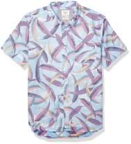 Quiksilver Men's Aussie Pop Short Sleeve Woven