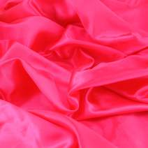 "Satin Fabric Rose Color for Wedding Dress Decoration DIY Crafts 60"" by 1 Yard"