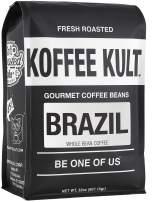 Koffee Kult Brazil Whole Bean Coffee Single Origin Artisan Roasted (32oz Whole Bean)…