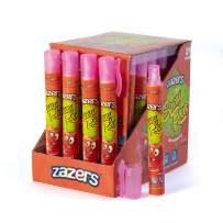 Zazers Candy Spray Pen Strawberry Flavor Candy Gluten Free Candy Novelty Candy and Kosher Candy 20 ml each Bulk Candy Pack of 24