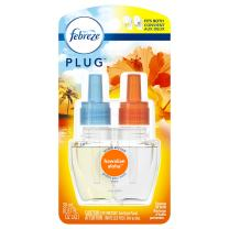 Febreze Plug Odor-Eliminating Air Freshener Scented Oil Refill, Hawaiian Aloha, 1 Count