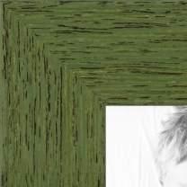 ArtToFrames WOM0066-77900-YGRN-24x30 Barnwood Wood Picture Frame, 24 x 30, Green