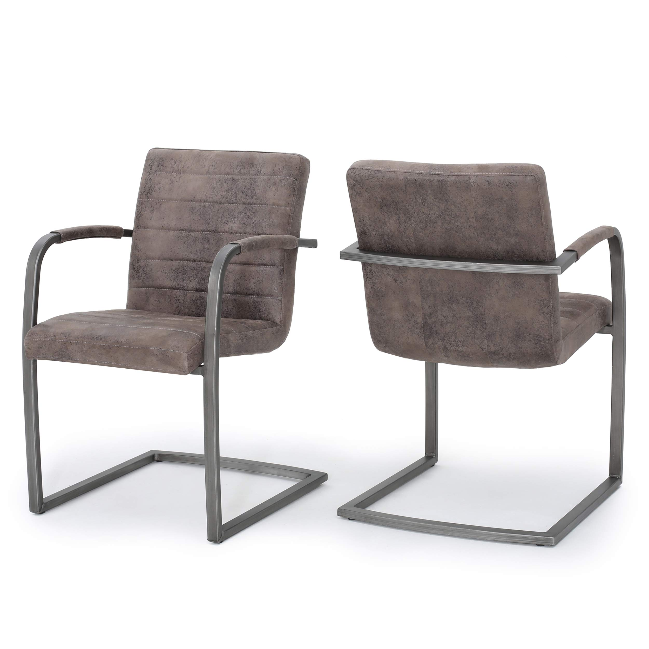 Christopher Knight Home Arlo Arm Chair, Greyish Brown