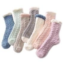 Century Star Women's Soft Slipper Socks Cozy Fluffy Fuzzy Gift for Women
