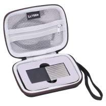 LTGEM EVA Hard Case for WD My Passport SSD Portable Storage 1TB 2TB 256GB 512GB - Travel Protective Carrying Storage Bag