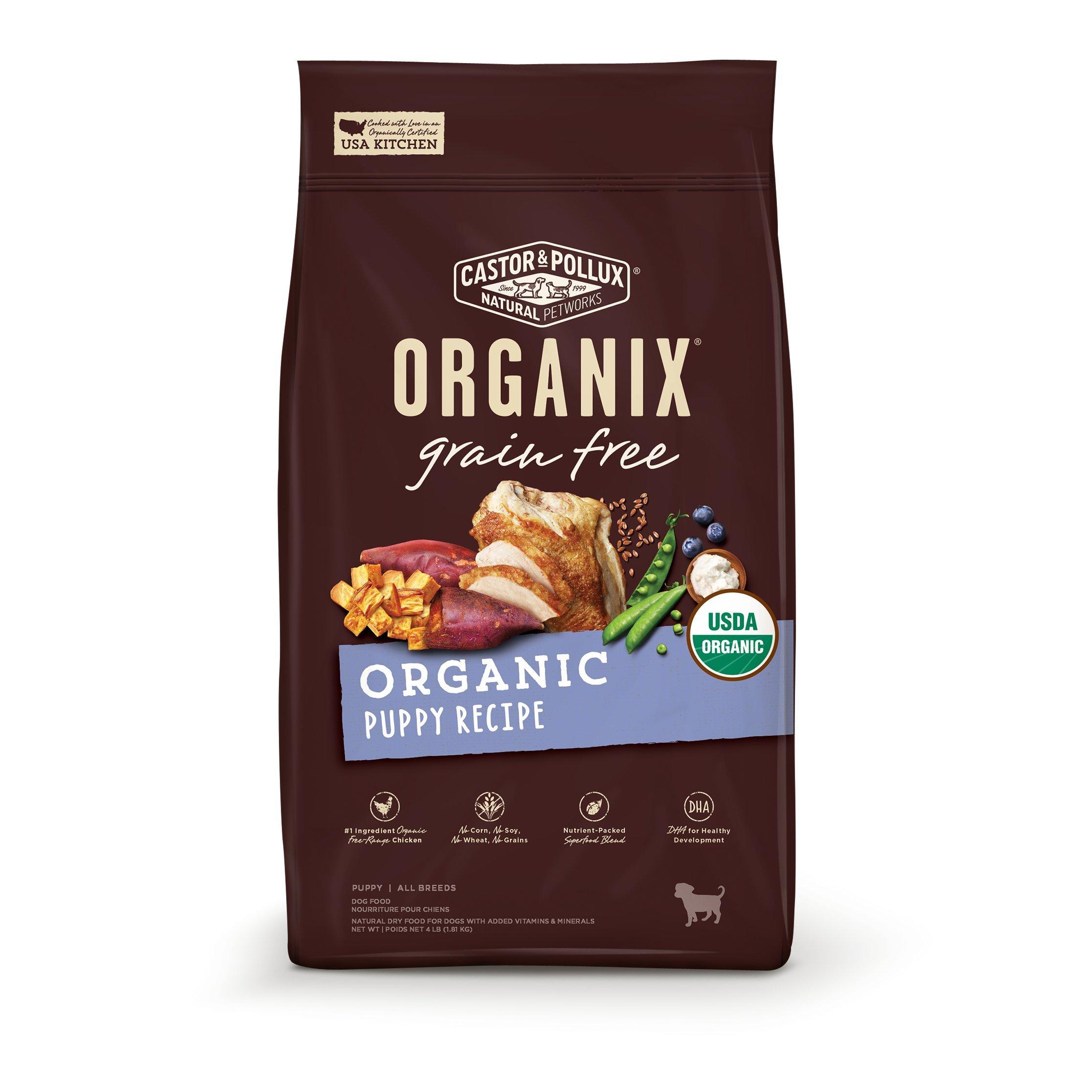 Castor & Pollux Organix Grain Free Organic Puppy Dry Dog Food