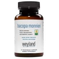Weyland: Organic Bacopa Monnieri 450mg (30 Count)