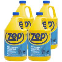 Zep Premium Pet Carpet Shampoo 128 ounce ZUPPC128 (Case of 4) Concentrated Pro Formula eliminates tough pet stains & odors