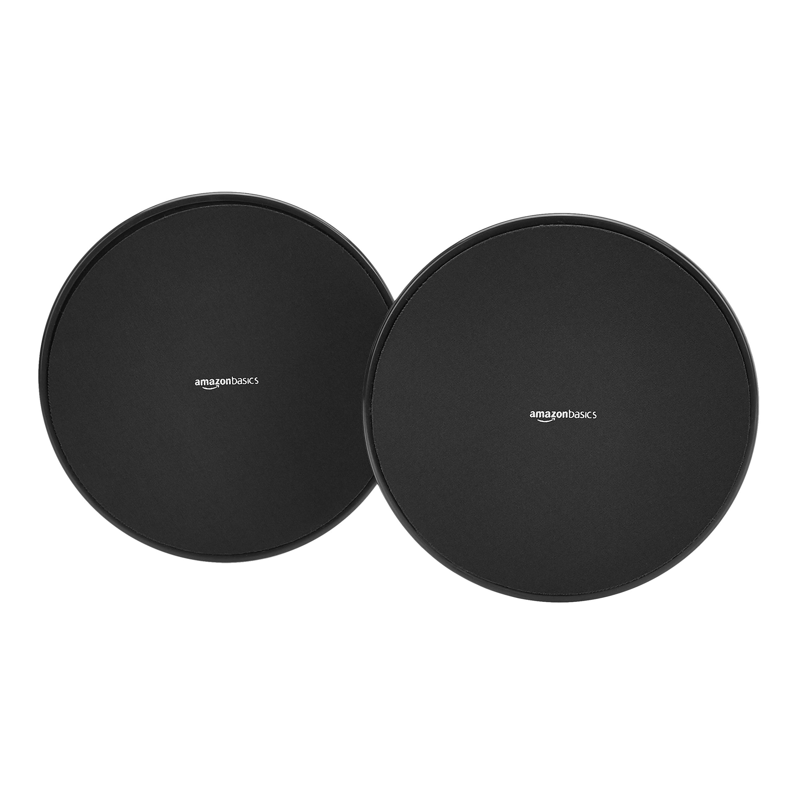 AmazonBasics Double Sided Core Exercise Gliding Sliders - 1-Pair