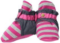 trimfit Baby Infant Girls 1-Pack Strawberries Booties W/Clasp