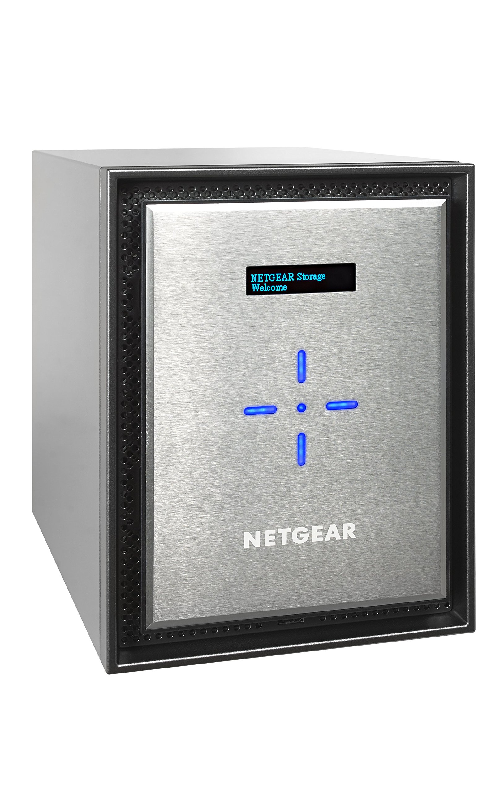 NETGEAR RN526XE6-100NES ReadyNAS 6 Bay 36TB Enterprise Premium Performance NAS, 60TB Capacity Network Attached Storage, Intel 2.2GHz Dual Core Processor, 4GB RAM