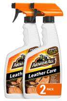 Armor All Car Leather Care Spray Bottle, Protectant Cleaner for Cars, Truck, Motorcycle, Beeswax, 16 Fl Oz, Pack of 2, 18725