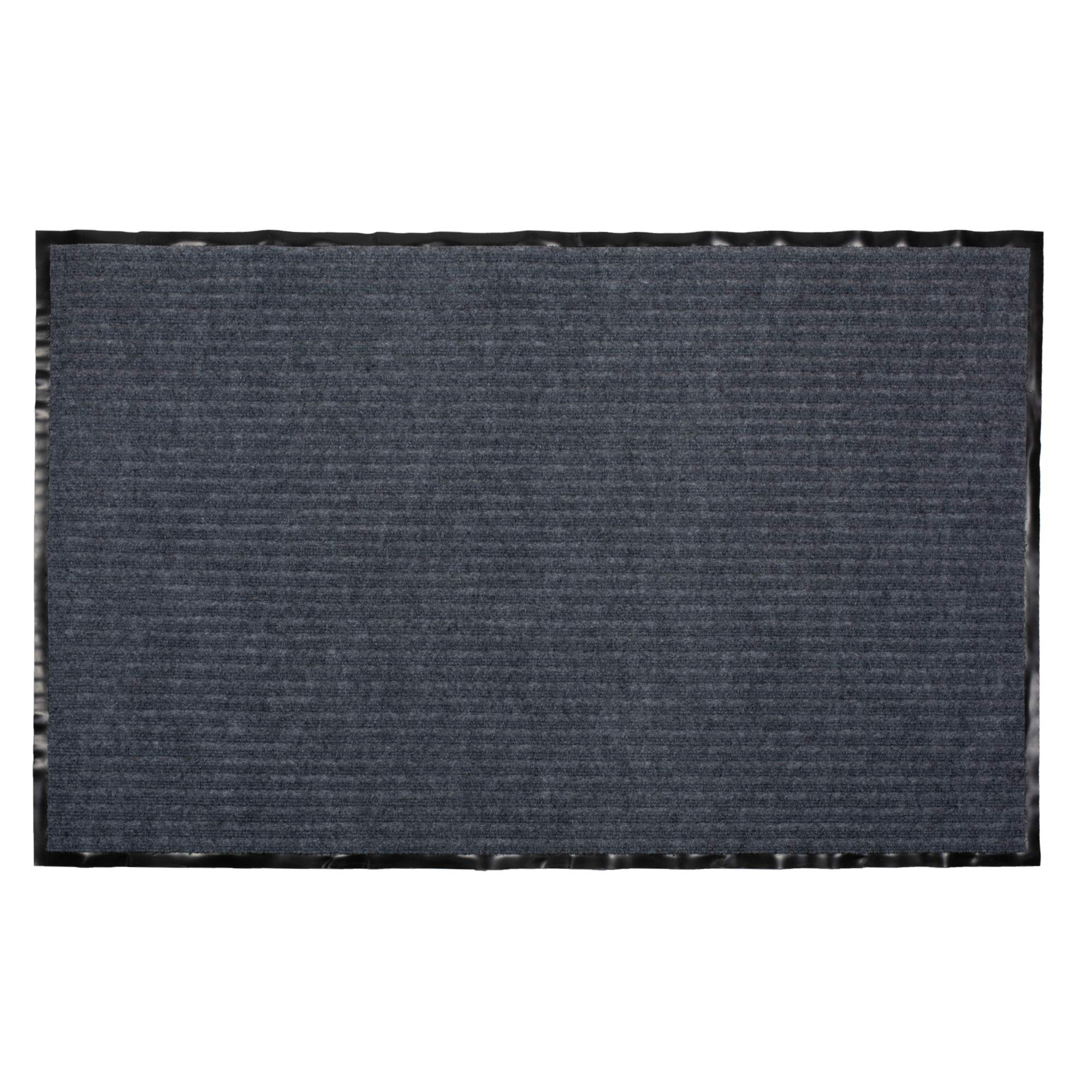 DII Durable Low Profile, Pet Friendly Indoor/Outdoor Doormat for Home or Commercial Use, 30x48, Gray Utility Mat