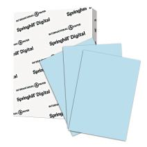 Springhill Blue Colored Paper, 24lb Copy Paper, 89gsm, 8.5 x 11 printer paper, 1 Ream / 500 Sheets - Pastel Paper with Smooth Finish (024034R)