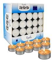 Hyoola Tea Lights Candles - 200 Bulk Candles Pack - Tea Lights - European Made Tealight Candles