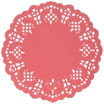 Darice Red Paper Doilies, 50 Piece