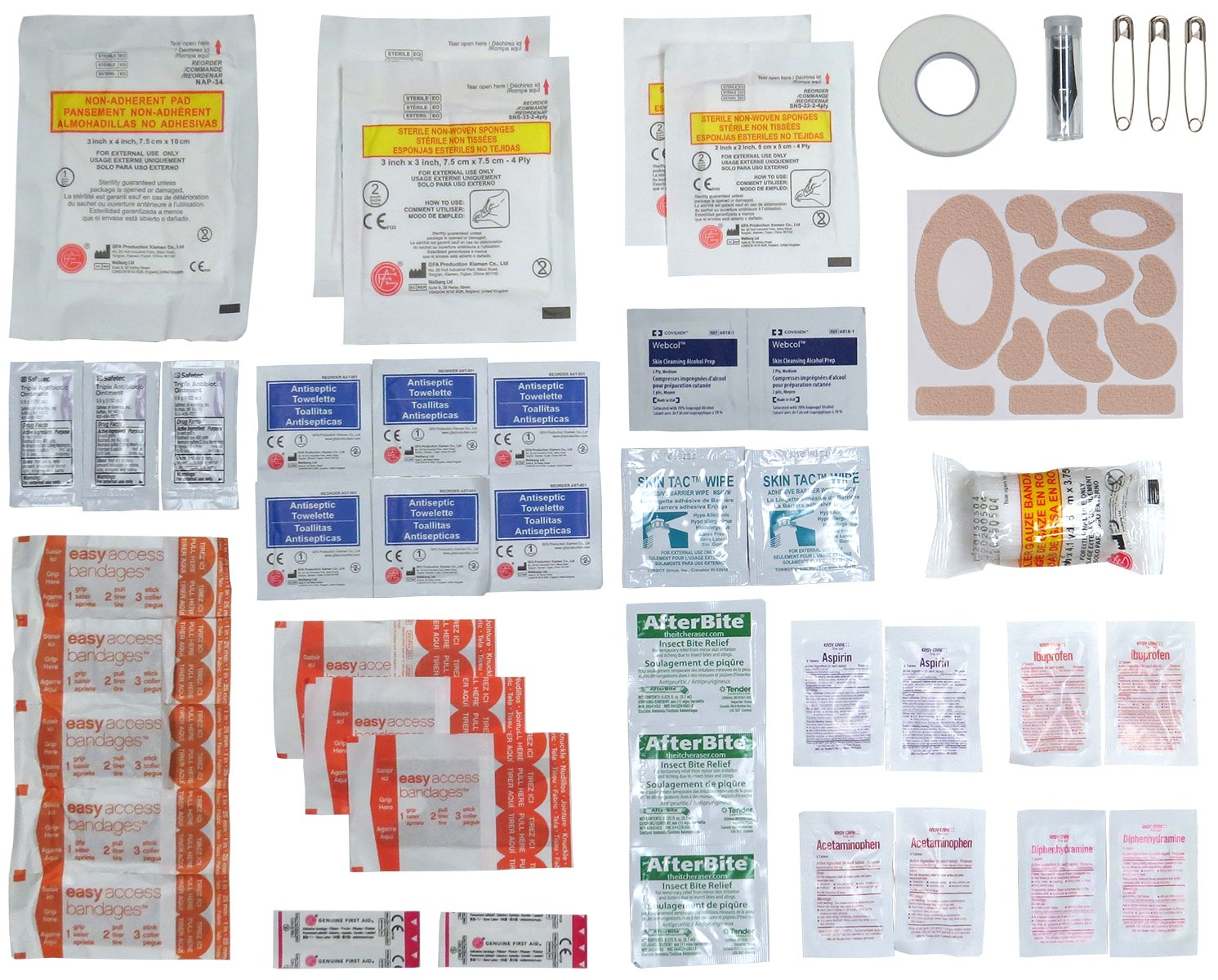 Ultralight & Watertight .5 Medical Kit