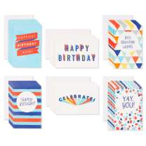 American Greetings Happy Birthday Cards Assortment (48-Count)